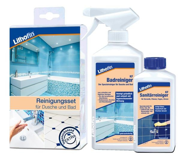 Lithofin® KF Reinigerset für Dusche und Bad