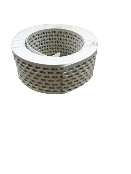 Vogelschutzgitter weiß 50 mm breit