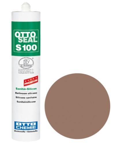 OTTOSEAL® S100 Premium-Sanitär-Silicon 300 ml - Tabakbraun C1167