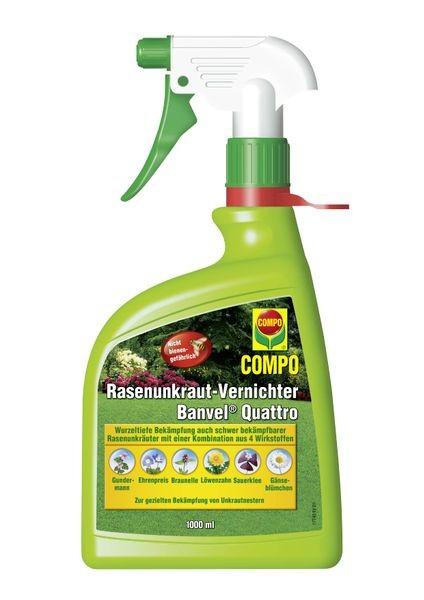 COMPO Rasenunkraut-Vernichter Banvel® Quattro AF 1 l