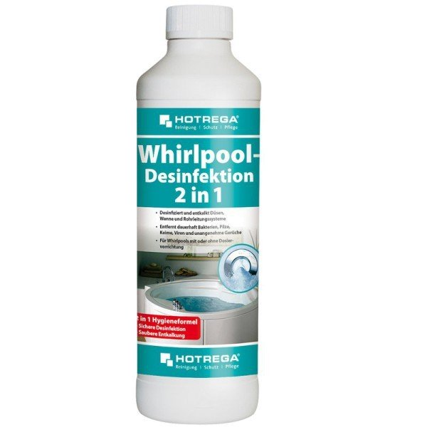Hotrega Whirlpool-Desinfektion 2 in 1 0,5l