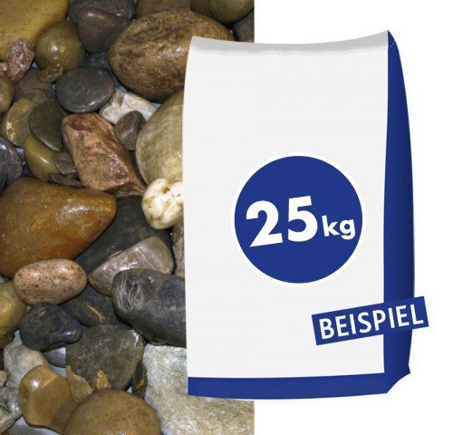 Moränekies 50-100 mm 25kg Sack