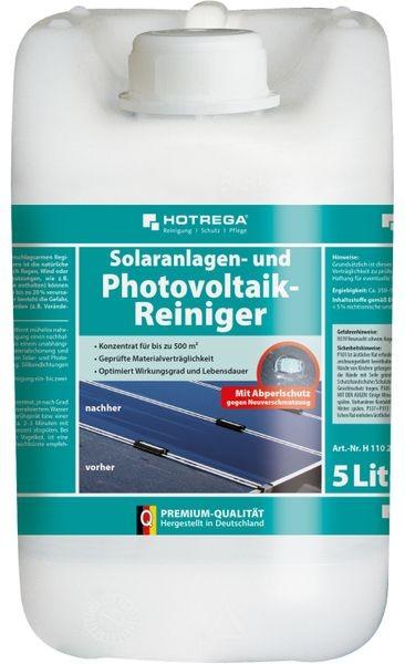 HOTREGA® Solaranlagen- und Photovoltaik-Reiniger 5 l