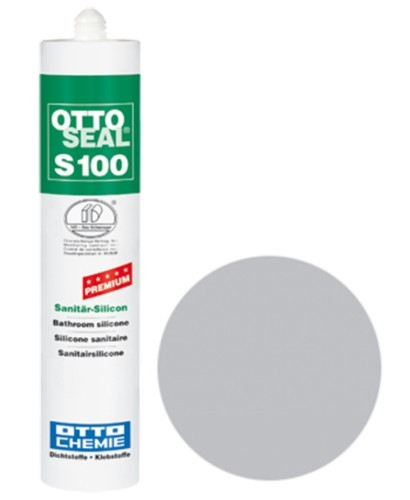OTTOSEAL® S100 Premium-Sanitär-Silicon 300 ml - Manhattan C43