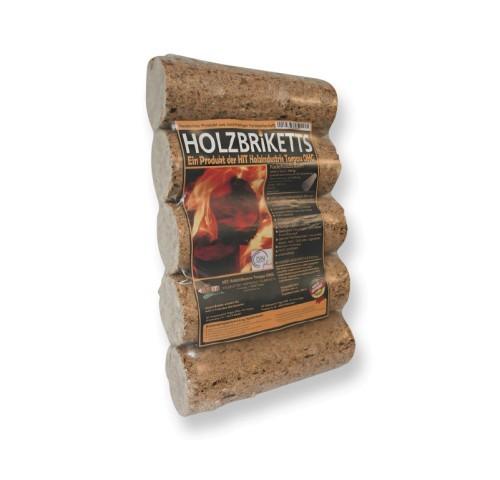 Holzbriketts rund ohne Loch 10 kg