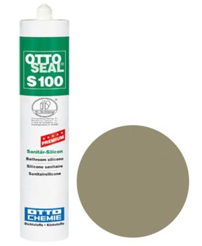 OTTOSEAL® S100 Premium-Sanitär-Silicon 300 ml - Sandgrau 18 C2044