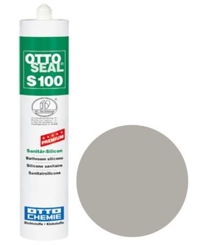 OTTOSEAL® S100 Premium-Sanitär-Silicon 300 ml - Flanellgrau C72