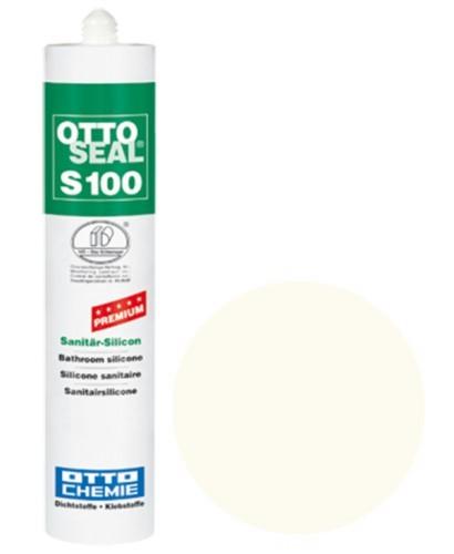 OTTOSEAL® S100 Premium-Sanitär-Silicon 300 ml - Vanillebeige C1107