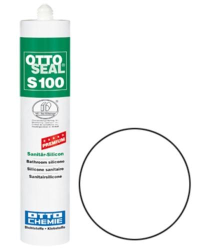 OTTOSEAL® S100 Premium-Sanitär-Silicon 300 ml - Weiß C01