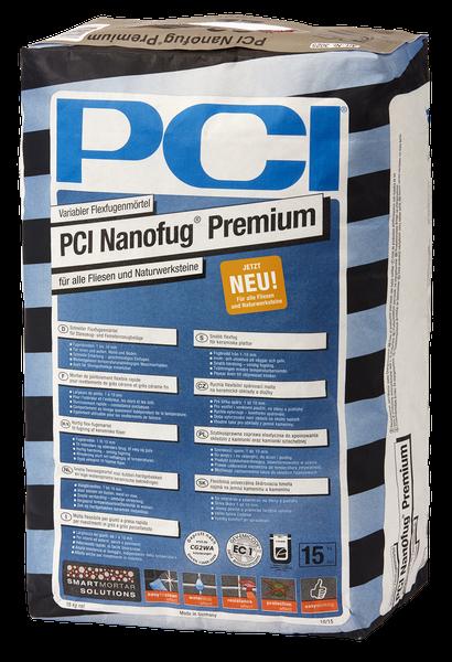PCI Nanofug Premium Nr.47 anthrazit 15kg