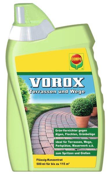COMPO VOROX Terrassen und Wege 500 ml