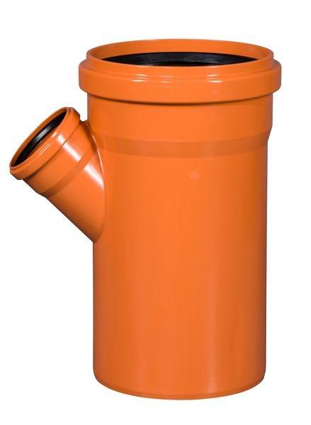 KG Einfachabzweig 45° DN 250/110 KGEA Abzweig Kunststoff Abwasserrohr