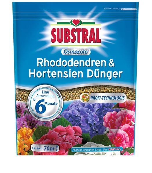 SUBSTRAL® Osmocote® Rhododendren & Hortensien Dünger 1,5 kg