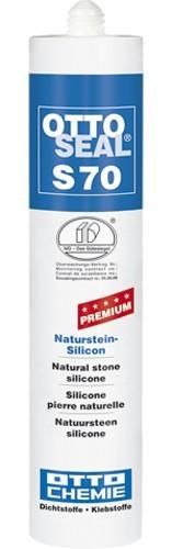OTTOSEAL® S70 Premium-Naturstein-Silicon 310 ml - Anthrazit C67