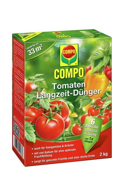 COMPO Tomaten Langzeit-Dünger 2 kg