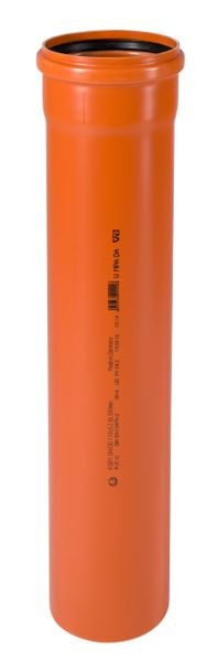 KGEM Rohr mit Muffe DN/OD 110 0,5 m