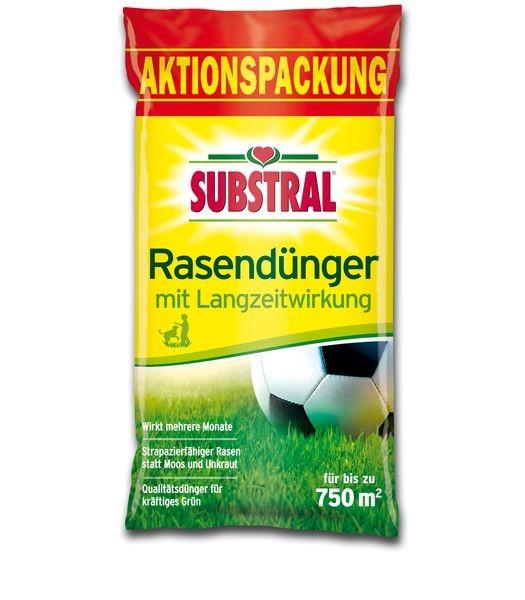SUBSTRAL®  Rasendünger mit Langzeitwirkung 15 kg