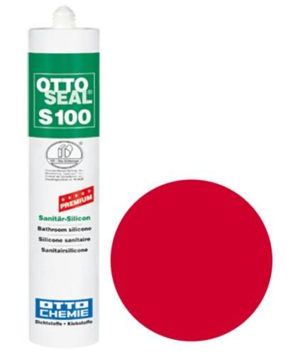 OTTOSEAL® S100 Premium-Sanitär-Silicon 300 ml - Feuerrot C35