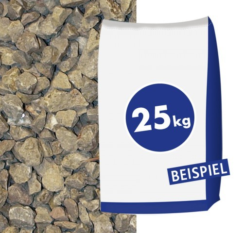 Kalksplitt Latte Macchiato 16-32mm 25kg Sack