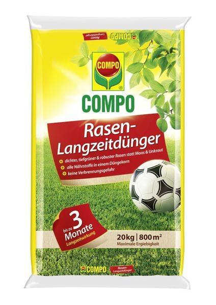 COMPO Rasen-Langzeitdünger 20 kg