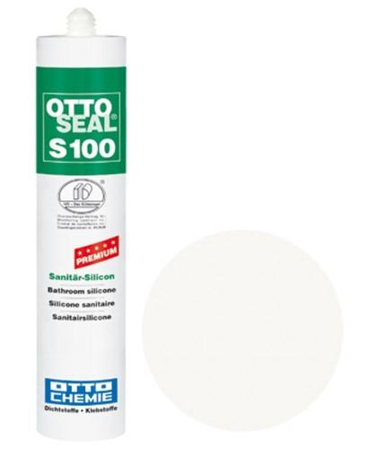 OTTOSEAL® S100 Premium-Sanitär-Silicon 300 ml - Schneeweiß C116
