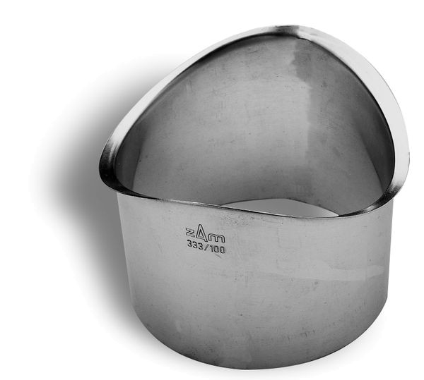 Zambelli VM Blank-Zinc® Rinnenstutzen 6 tlg. 333/100 mm