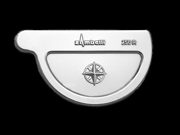 Zambelli VM Blank-Zinc® Rinnenboden halbrund rechts 250 mm