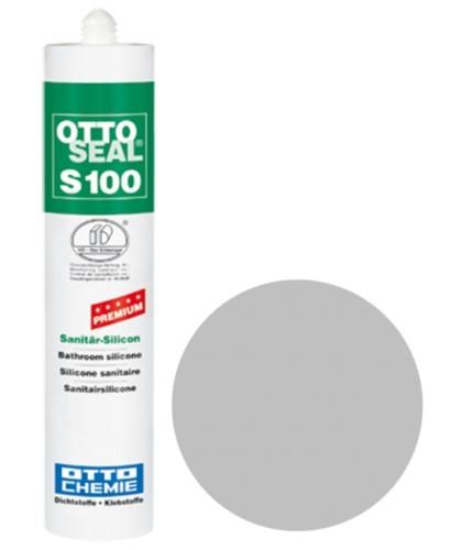 OTTOSEAL® S100 Premium-Sanitär-Silicon 300 ml - Blassgrau C86