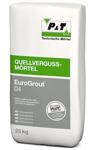 EuroGrout 04 Vergussmoertel 0-4 mm 25 kg