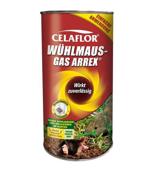 CELAFLOR® Wühlmaus Gas Arrex 250 g