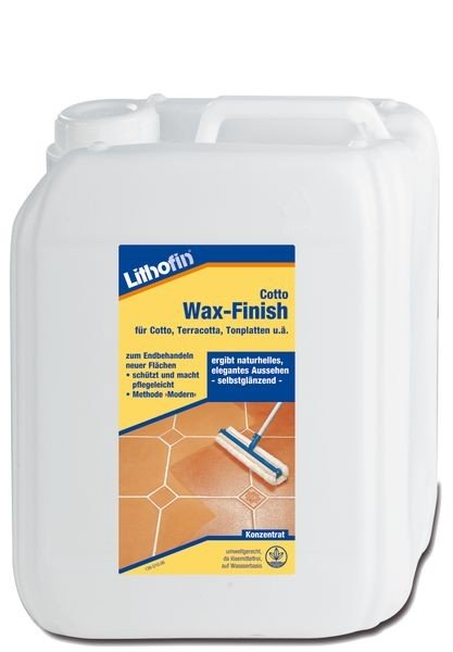 Lithofin® Cotto Wax-Finish 5 l