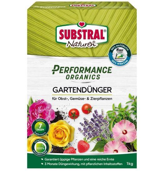 SUBSTRAL® Naturen® Performance Organics Gartendünger 1 kg
