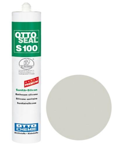 OTTOSEAL® S100 Premium-Sanitär-Silicon 300 ml - Silbergrau C94