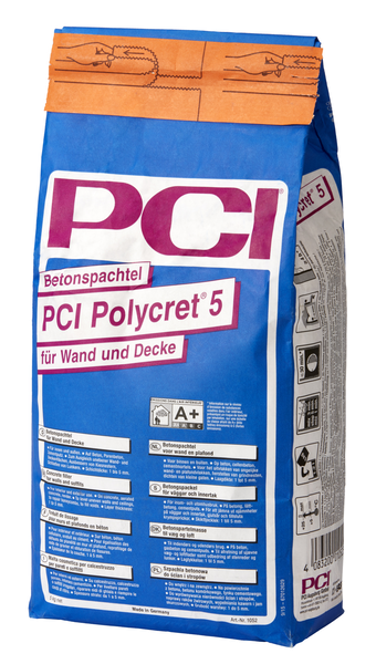 PCI Polycret® 5 Betonspachtel 5 kg