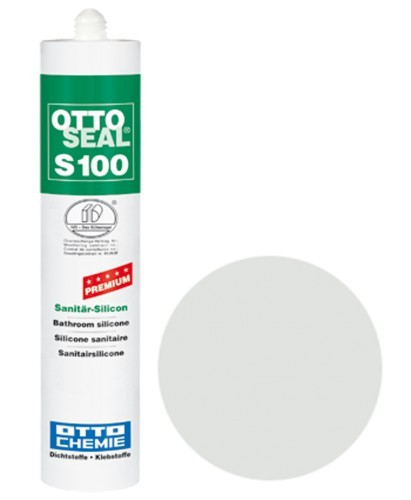 OTTOSEAL® S100 Premium-Sanitär-Silicon 300 ml - Nebel C230