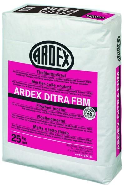 Ardex DITRA FBM Fliessbettmoertel 25 kg