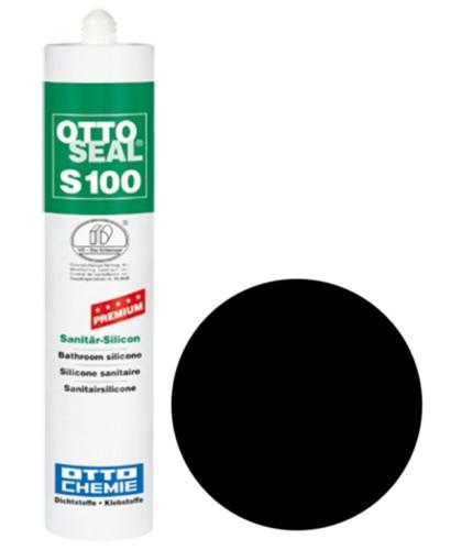 OTTOSEAL® S100 Premium-Sanitär-Silicon 300 ml - Schwarz C04