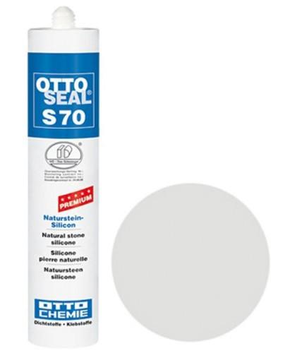 OTTOSEAL® S70 Premium-Naturstein-Silicon 310 ml - Perlgrau C80