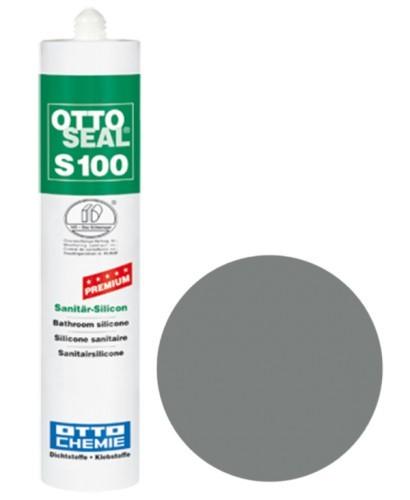OTTOSEAL® S100 Premium-Sanitär-Silicon 300 ml - Altgrau C1170