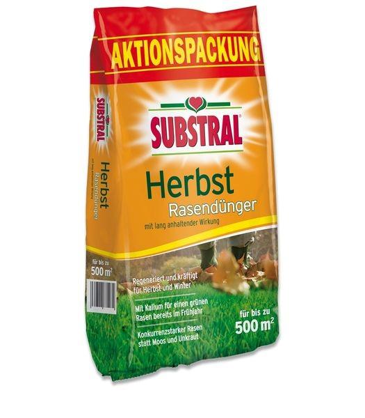 SUBSTRAL® Herbst Rasendünger 12,5 kg