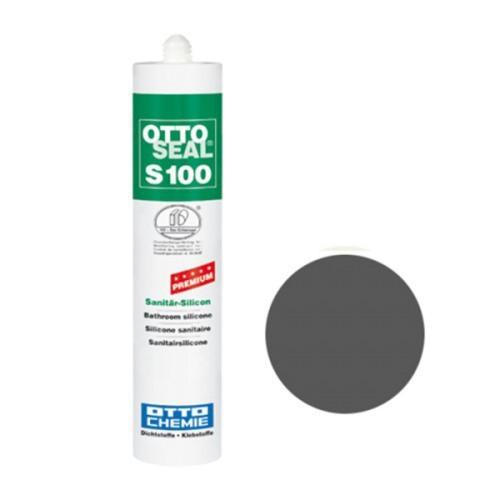 OTTOSEAL® S100 Premium-Sanitär-Silicon 300 ml - Anthrazit C67