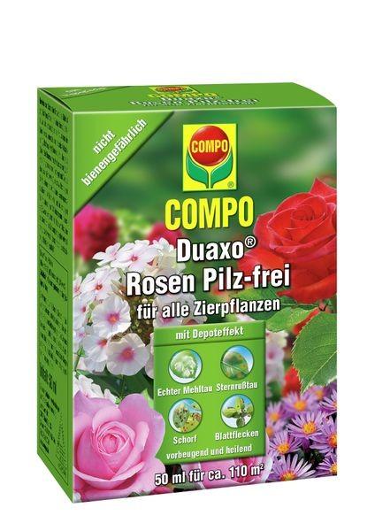COMPO Duaxo® Rosen Pilz-frei für alle Zierpflanzen 130 ml