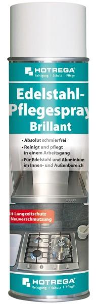 HOTREGA® Edelstahl-Pflegespray Brillant 500 ml