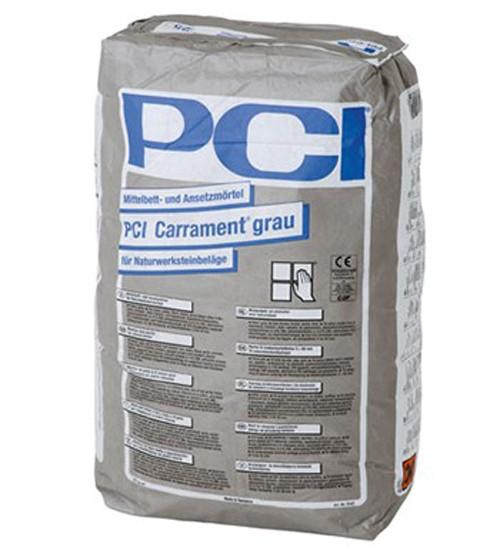 PCI Carrament® Mittelbett- und Ansetzmörtel Grau 25 kg