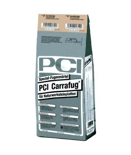 PCI CARRAFUG Spezial Fugenmörtel Perlgrau 5 kg Naturstein Fugen Mörtel
