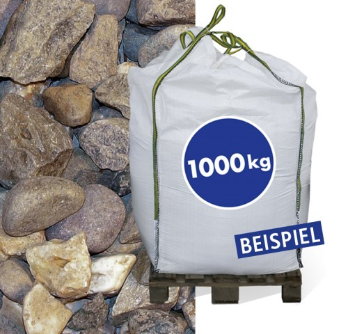Rheinkies 32-63mm 1.000kg Big Bag