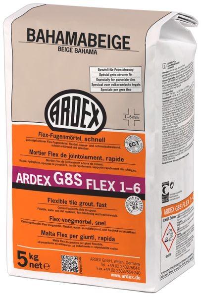 ARDEX G8S FLEX-Fugenmörtel 1-6 - 5 kg bahamabeige