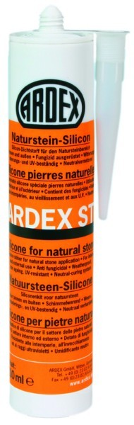 ARDEX ST Naturstein-Silicon 310 ml - steingrau