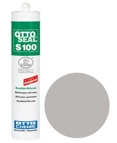 OTTOSEAL® S100 Premium-Sanitär-Silicon 300 ml - Seidengrau C77