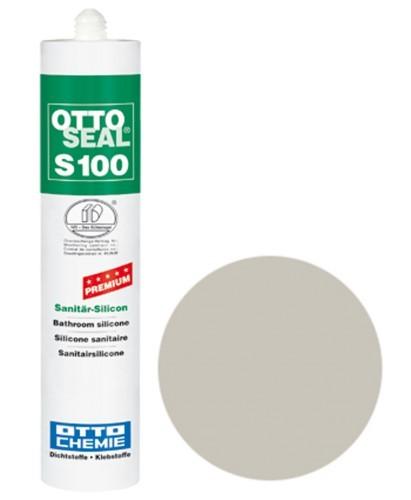 OTTOSEAL® S100 Premium-Sanitär-Silicon 300 ml - Fugengrau C71